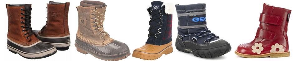 Vagabond vinterstøvler - Støvler der kan bruges om vinteren i læderVinterstøvler